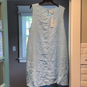 NWT Pale Blue Sleeveless Dress